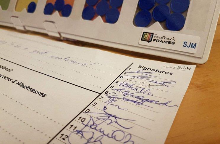 signatures for feedback frames